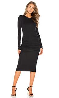 Вязаное платье в рубчик - ATM Anthony Thomas Melillo