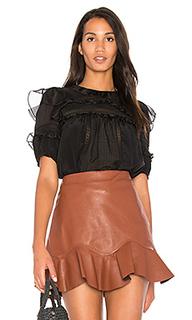 Silk & lace blouse - Rebecca Taylor