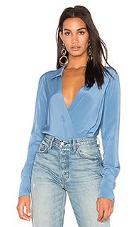 Блуза с перекрестными шлейками - Diane von Furstenberg