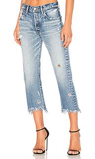 Укороченные прямые джинсы atoka - Moussy