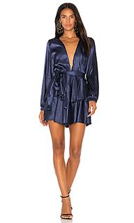 Платье с воланами chamboard - LIONESS