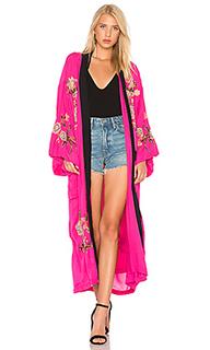 Куртка-кимоно с цветочной вышивкой - Free People