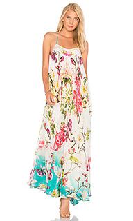 Макси платье с цветочным принтом - ROCOCO SAND