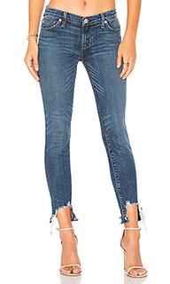 Узкие укороченные джинсы средней посадки colette - Hudson Jeans