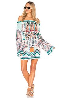 Платье с открытыми плечами - HEMANT AND NANDITA