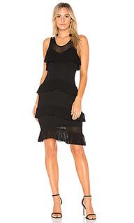 Сеточное вязаное платье talulah - Ronny Kobo