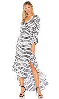 Платье с асимметричным запахом - Diane von Furstenberg