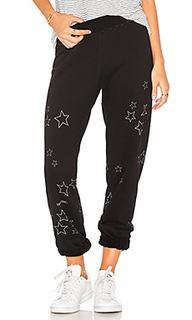 Спортивные брюки со звёздным принтом gia - Lauren Moshi