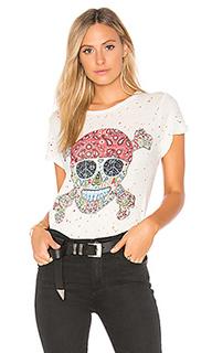 Витанжная футболка hippie skull bess - Lauren Moshi