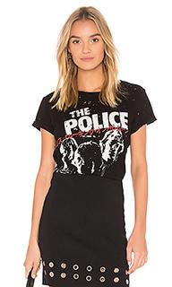 Классическая футболка bess police - Lauren Moshi