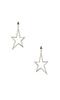 Серьги звездочка stargazing - Rebecca Minkoff