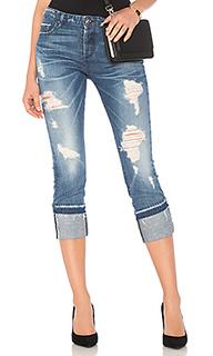 Прямые облегающие джинсы herma - TORTOISE