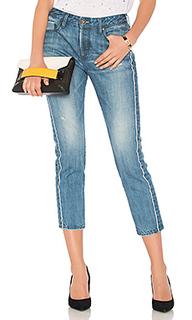 Укороченные джинсы из сэлвиджа savanna - TORTOISE