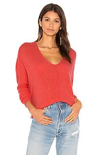 Свободный свитер с v-образным вырезом solana - 27 miles malibu