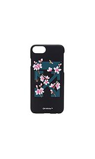 Чехол для iphone 7 с принтом вишневый цвет - OFF-WHITE