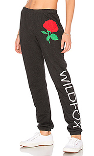 Свободные брюки wild rose - Wildfox Couture