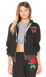 Свитшот с капюшоном wild rose - Wildfox Couture