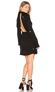 Платье с высоким воротом и вышитыми сердечками - Wildfox Couture