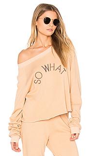 Короткий свитшот so what - Wildfox Couture