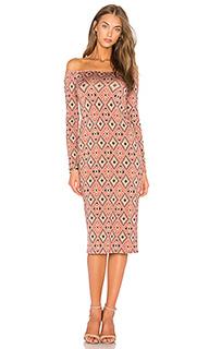 Платье с длинным рукавом jagger - Rachel Pally
