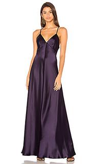 Вечернее платье с v-вырезом без рукавов - JILL JILL STUART