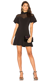 Комбинированное платье zoe - Parker