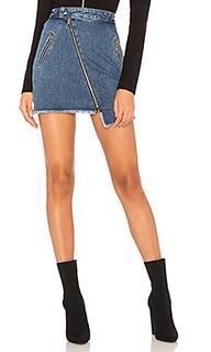 Юбка с асимметричной молнией - Joes Jeans