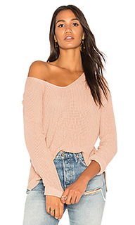Вязаный пуловер с v-вырезом - Michael Stars