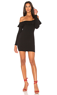 Платье в рубчик с рюшами luxe - Rachel Pally