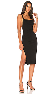 Платье в рубчик с низким вырезом на спине luxe - Rachel Pally