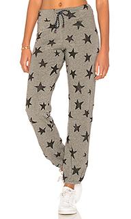 Спортивные брюки со звездным принтом - SUNDRY