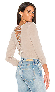 Vintage rib lace back tee - Chaser