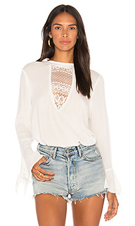Crochet inset blouse - Band of Gypsies