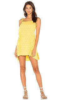 Мини юбка с рюшами - Vix Swimwear