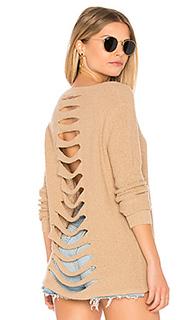 Пуловер с открытой спиной blaine - One Grey Day