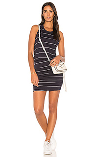 Платье на шлейках с рюшами - SUNDRY