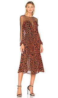 Платье миди katia - DELFI
