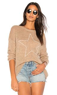 Свободный свитер с графикой звезда - SUNDRY
