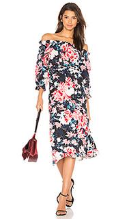 Платье с длинным рукавом grace - SALONI