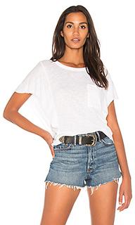 Шерстяная футболка с рюшами - Splendid