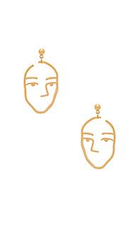 Серьги amber - Amber Sceats
