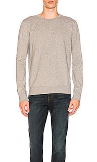 Пуловер из футера с круглым вырезом - FRAME Denim