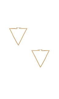 Треугольные серьги - Ettika