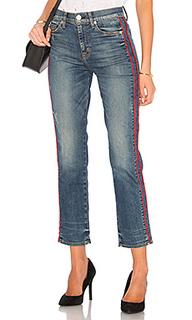 Укороченные джинсы высокой посадки custom zoeey - Hudson Jeans