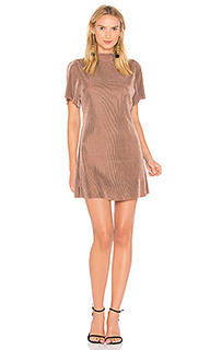Платье с открытой спиной и ложным воротом - J.O.A.