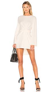 Платье с переплетом и завязкой - MILLY