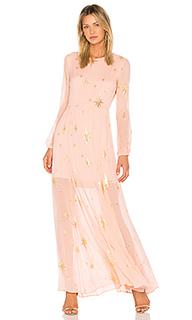 Макси платье gilded star - For Love & Lemons
