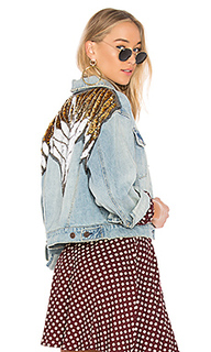 Украшенная джинсовая куртка glam - Free People
