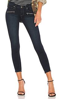 Укороченные узкие джинсы с молниями jane - PAIGE