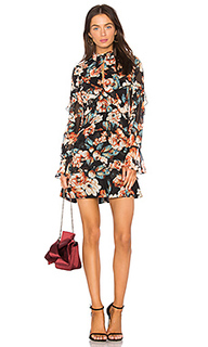 Платье со сборками lola - NICHOLAS